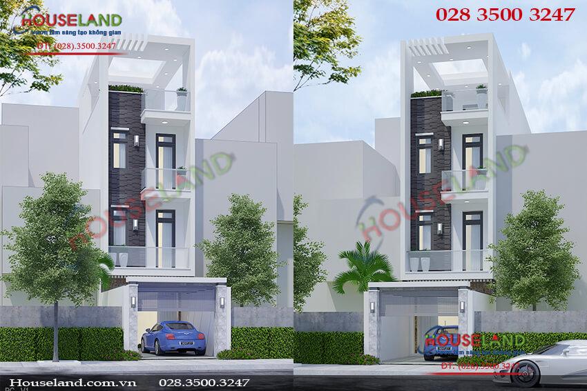 Mẫu thiết kế nhà phố 4x15m đẹp đẳng cấp
