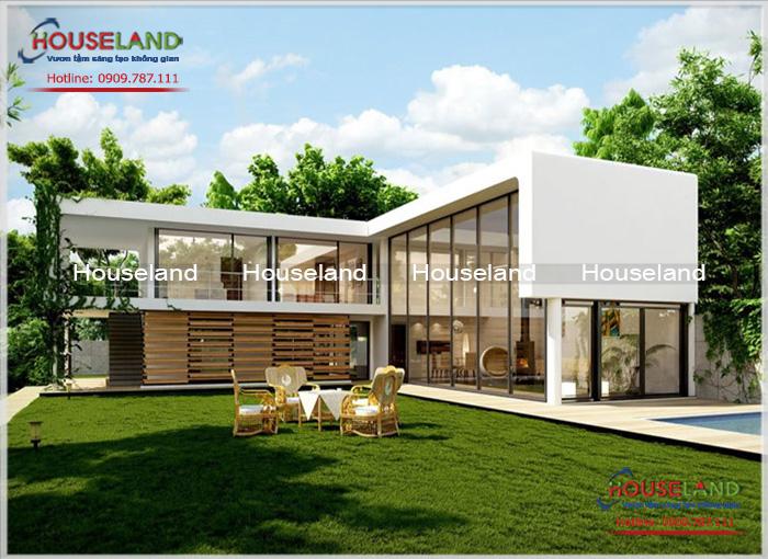 Tổng hợp 5 mẫu thiết kế biệt thự vườn hiện đại đẹp hiện nay