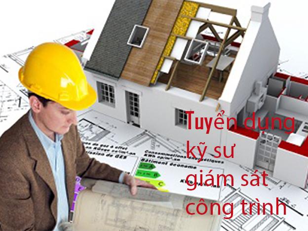 Thông báo tuyển dụng giám sát công trình