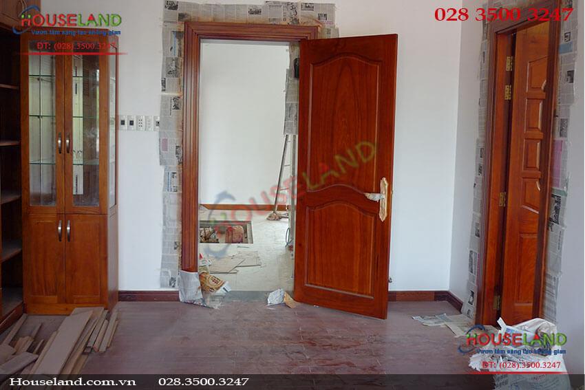 Thi công xây dựng nội thất biệt thự nhà Anh Lâm