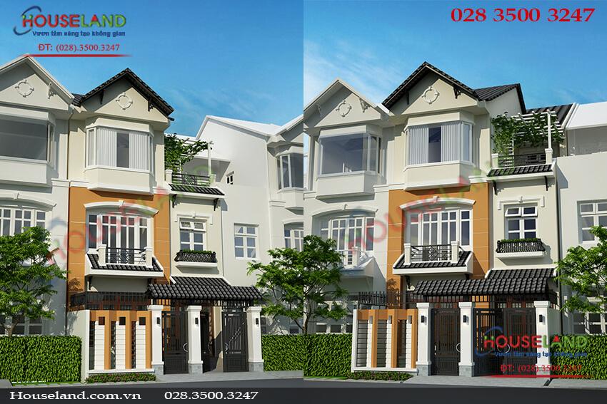 Mẫu thiết kế nhà phố 6x17m đẹp hiện đại