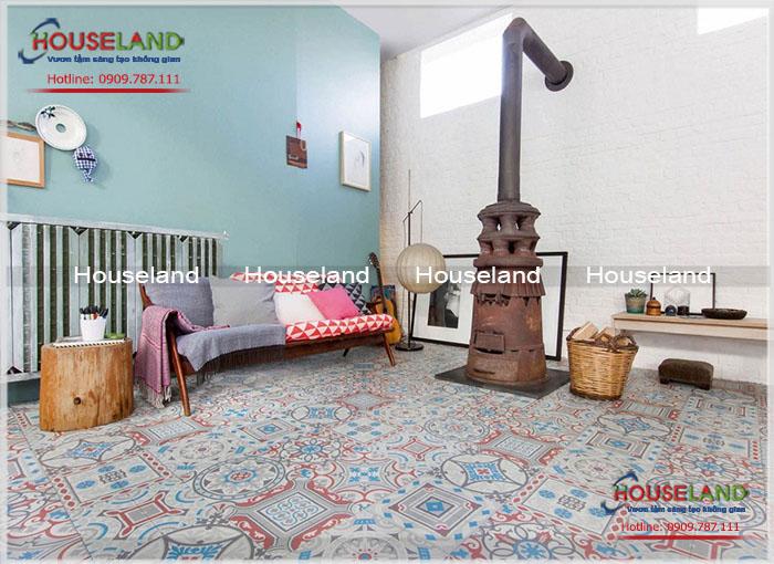 Ý tưởng trang trí nhà đẹp- thiết kế nội thất bằng gạch bông