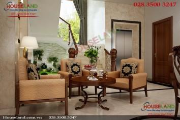 Mẫu thiết kế nội thất biệt thự đẹp nhà chị Mai ở Quận 7